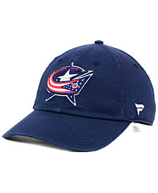 Authentic NHL Headwear Columbus Blue Jackets Fan Relaxed Adjustable Strapback Cap
