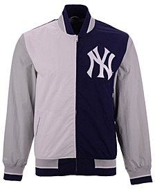 Mitchell & Ness Men's New York Yankees Team History Warm Up Jacket 2.0