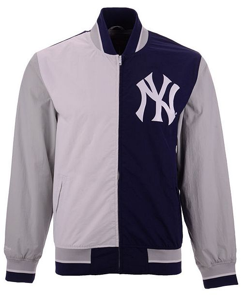188faed6ecf ... Mitchell   Ness Men s New York Yankees Team History Warm Up Jacket ...