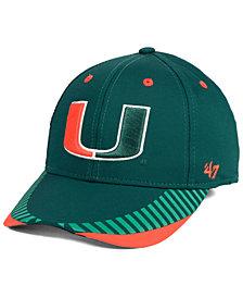 '47 Brand Miami Hurricanes Temper Contender Flex Cap
