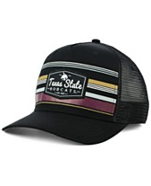 premium selection 3cbe1 b7847 Top of the World Texas State Bobcats Top Route Trucker Snapback Cap