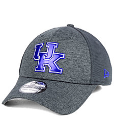 New Era Kentucky Wildcats Shaded Luster 39THIRTY Stretch Fitted Cap