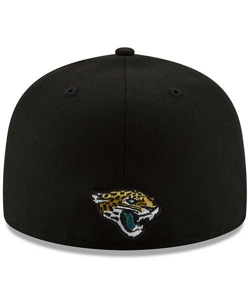 a4f2dbcb8c8 New Era Jacksonville Jaguars Logo Elements Collection 59FIFTY FITTED Cap ...