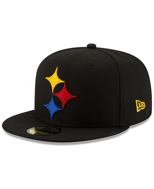d3fd4599 Pittsburgh Steelers Logo Elements Collection 59FIFTY FITTED Cap