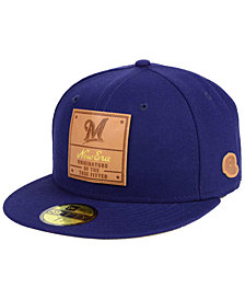 New Era Milwaukee Brewers Vintage Team Color 59FIFTY Fitted Cap