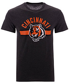 Authentic NFL Apparel Men's Cincinnati Bengals Checkdown T-Shirt