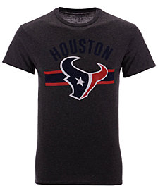 Authentic NFL Apparel Men's Houston Texans Checkdown T-Shirt
