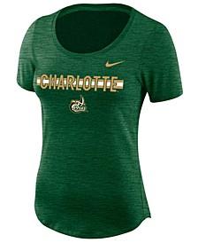 Women's Charlotte 49ers Dri-FIT Slub T-Shirt