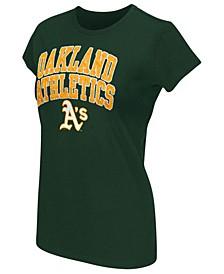 Women's Oakland Athletics Endzone T-Shirt