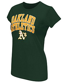 G-III Sports Women's Oakland Athletics Endzone T-Shirt