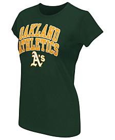 G-III Sports Women's Oakland Athletics Endzone T-Shirt