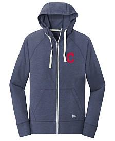 New Era Cleveland Indians Triblend Fleece Full-Zip Sweatshirt