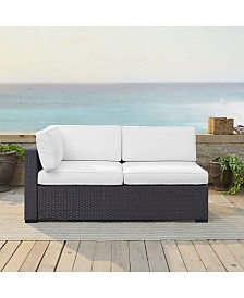 Biscayne Loveseat With Int Arm With Cushions