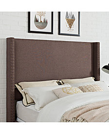 Casey Wingback Upholstered Full And Queen Headboard