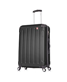 "Intely 28"" Hardside Spinner Luggage With Integrated Weight Scale"