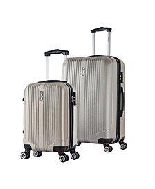 InUSA San Francisco 2-Pc. Lightweight Hardside Spinner Luggage Set