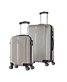 "InUSA San Francisco 2-Piece 18"" and 26"" Lightweight Hardside Spinner Set"