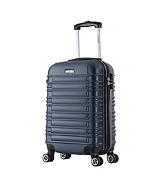 "New York 20"" Lightweight Hardside Spinner Carry-on Luggage"
