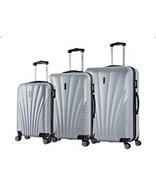 Chicago 3-Pc. Lightweight Hardside Spinner Luggage Set