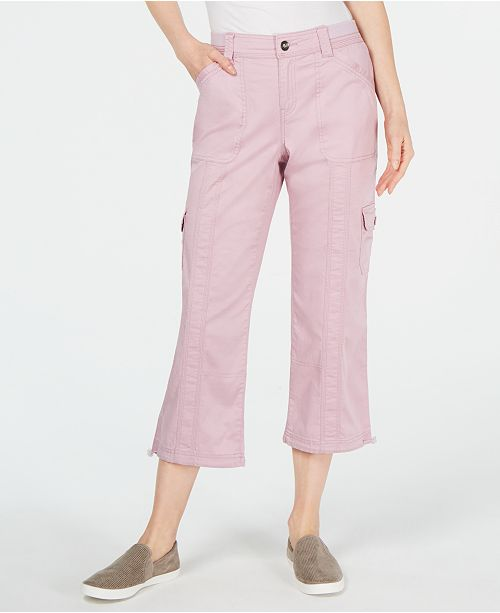 Style & Co Capri Cargo Pants, Created for Macy's