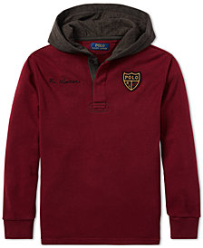 Polo Ralph Lauren Big Boys Fleece Rugby Hoodie