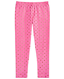 Epic Threads Little Girls Glitter-Dot Leggings, Created for Macy's