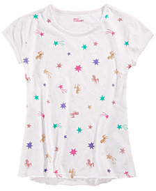 Epic Threads Big Girls Printed T-Shirt, Created for Macy's
