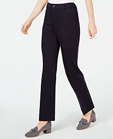 Charter Club Straight Leg Pants, Created for Macy's