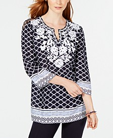 Embroidered Tunic, Created for Macy's