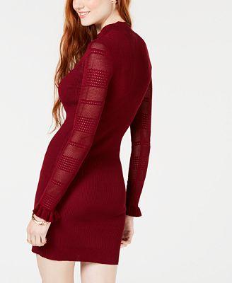 Almost Famous Juniors Bodycon Sweater Dress Dresses Women Macy S