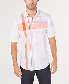 Alfani Men's Scotty Plaid Shirt, Created for Macy's