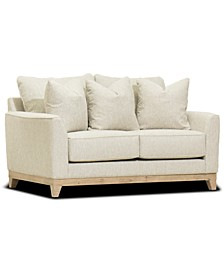 "Brackley 66"" Fabric Loveseat, Created for Macy's"
