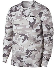 Nike Men's Dry Camo-Print Training Shirt