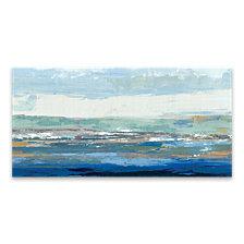 Big Wave Hand Embellished Canvas