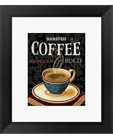Todays Coffee IV by Lisa Audit Framed Art
