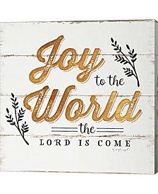 Joy to the World by Jennifer Pugh Canvas Art