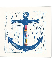 Nautical Collage III By Courtney Prahl Canvas Art