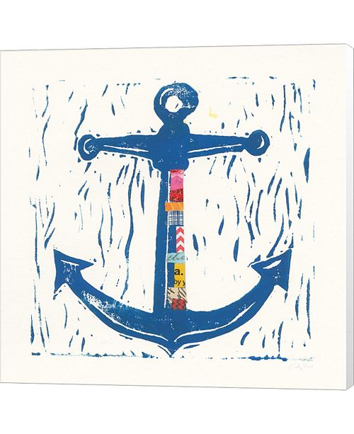 Metaverse Nautical Collage III By Courtney Prahl Canvas Art