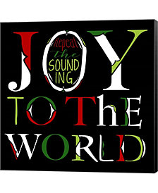 Joy to the World B by Longfellow Designs Canvas Art
