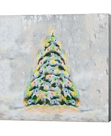 Jolly Christmas Tree By Tiffany Hakimipour Canvas Art