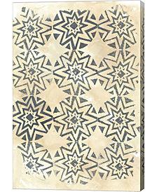 Ancient Textile IV By June Erica Vess Canvas Art