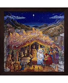 Nativity By Bill Bell Framed Art