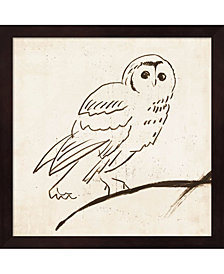 Owl II by Tom Reeves Framed Art