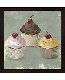 Cupcakes by Posters International Studio Framed Art