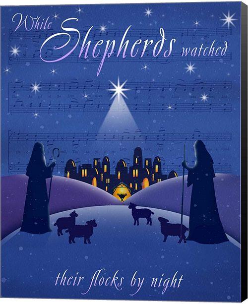 Metaverse Shepherds By P.S. Art Studios Canvas Art