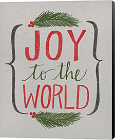 Joy to the World by Katie Doucette Canvas Art