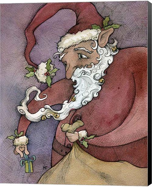 Metaverse Santa II By Kory Fluckiger Canvas Art