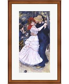 Dance At Bougival By Pierre-Auguste Renoir Framed Art