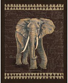 Grand Elephant Trave by Naomi McBride Framed Art