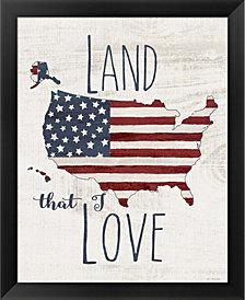 Land I Love by Jo Moulton Framed Art